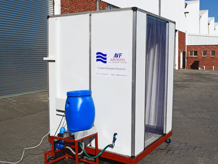 AIRVENTFIL DISINFECTION SPRAY BOOTH